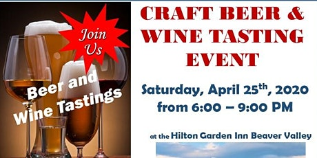 Craft Beer & Wine Tasting Event tickets