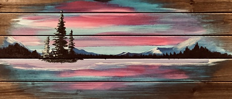 Rustic Wood Painting Calgary tickets