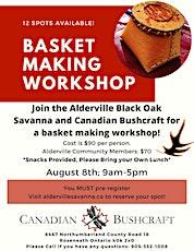 Basket Making Workshop tickets