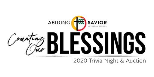 ASLS Counting Our BLESSINGS Trivia Night and Auction
