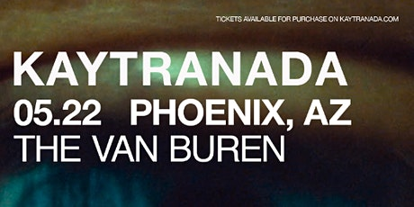 Kaytranada – BUBBA North American Tour tickets