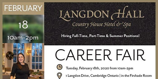 Langdon Hall Career Fair