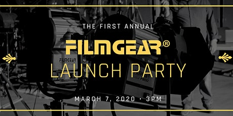 FilmGear® Launch Party 2020 tickets
