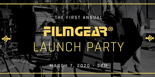 FilmGear® Launch Party 2020