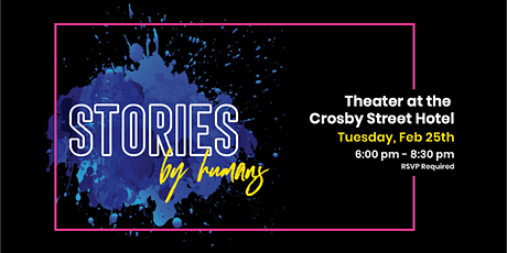 Stories, by Humans tickets