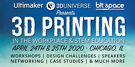 3D Printing in the Workplace and STEM Education tickets