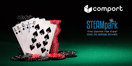 STEAMpark's 2nd Annual Texas Hold'em Poker Tournament tickets