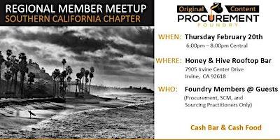 Southern California Member Meetup February 20, 2020