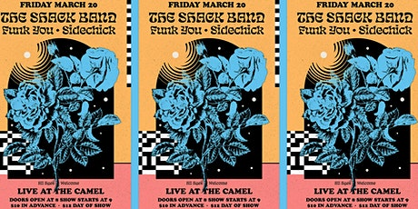 The Shack Band, Funk You, Sidechick tickets