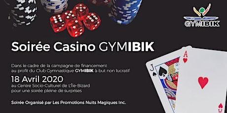 Soirée Casino GYMIBIK 2020 tickets