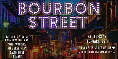 FREEHOLD Fat Tuesday tickets