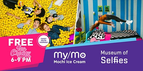 Sweet Thursday at the Museum of Selfies-Complimentary My/Mo Mochi ICE CREAM tickets