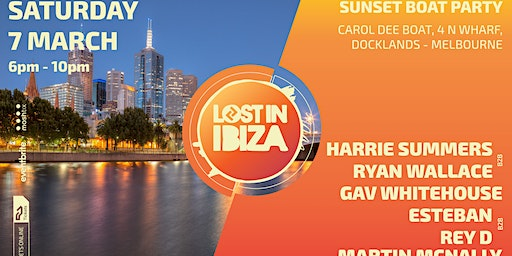 Lost In Ibiza Sunset Boat Party - Melbourne