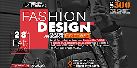 FASHION DESIGNER CONTEST tickets