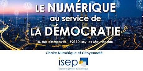 Séminaire - le numérique au service de la démocratie billets