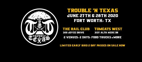 TNT Fest - Fort Worth at The Rail Club and Tomcats West tickets