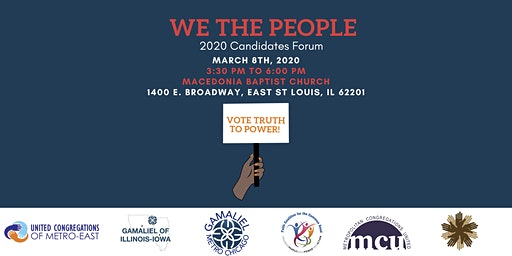 We The People 2020 Candidates Forum