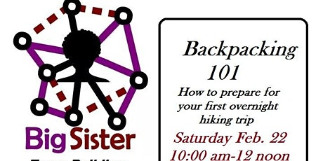 Backpacking 101 w/ Big Sister Team Building tickets