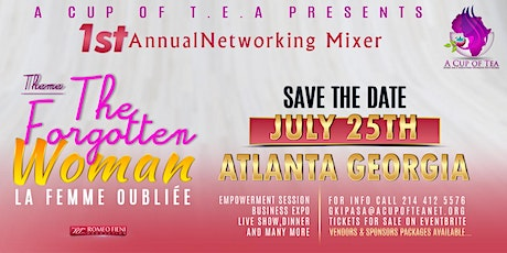 The Forgotten Woman Networking Mixer ATL tickets