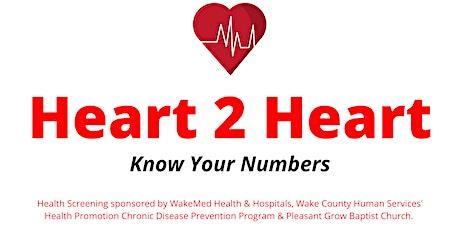 Heart 2 Heart Free Screening Event tickets