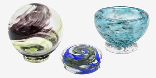 glassblowing experience at glassybaby madrona 2/22/20