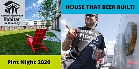 House that Beer Built: Pint Night 2020! tickets