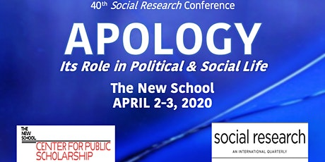 Apology: Its Role in Political and Social Life tickets
