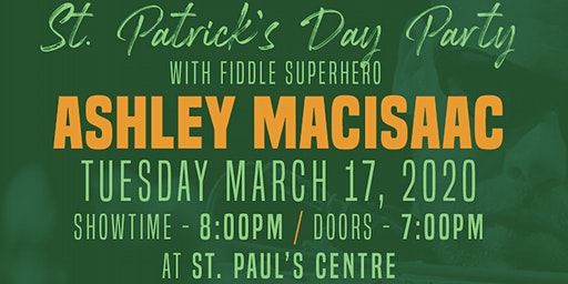 St Patrick's Day Party w/ Ashley MacIsaac