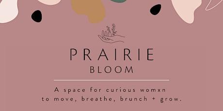 Prairie BLOOM tickets
