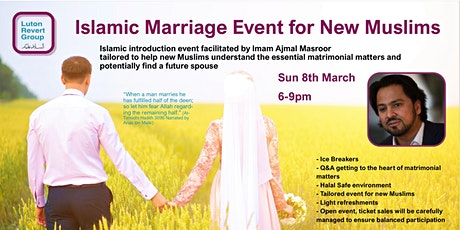 Islamic Marriage Event tickets