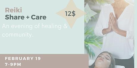 Reiki Share + Care tickets