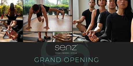 Senz Yoga, Barre & Cycle Grand Opening tickets