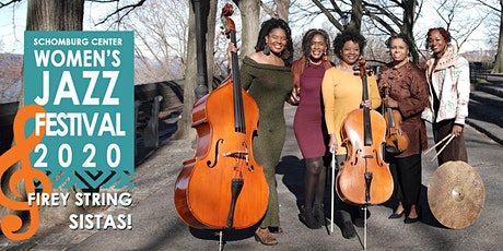2020 Women's Jazz Festival WEEK 5: FEATURING FIREY SISTAS! & GUEST tickets