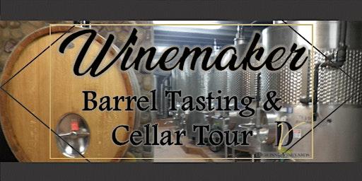 Winemaker Barrel Tasting & Cellar Tour
