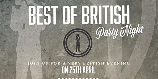 Best Of British Party Night