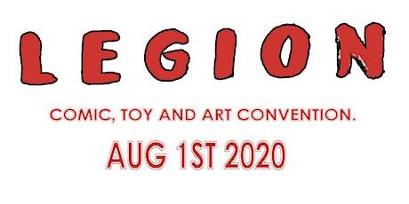 LEGION COMIC CONVENTION tickets