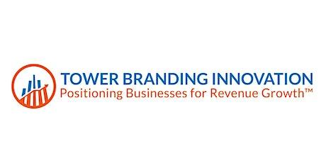Tower Branding Innovation (Live Workshop) tickets