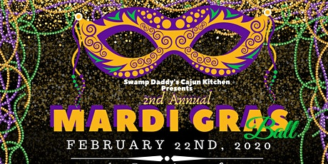 Swamp Daddy's 2nd Annual Mardi Gras Ball tickets