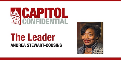 The Leader: Andrea Stewart-Cousins