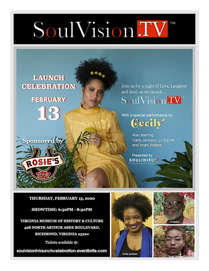 SoulVision.TV Launch Celebration image