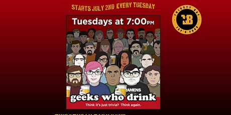 Trivia Tuesday @ Thirsty Bay  Hosted  by Geeks Who Drinks tickets