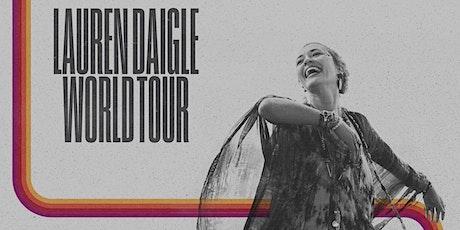 Lauren Daigle's World Tour - Childfund Volunteers - North Charleston, SC tickets