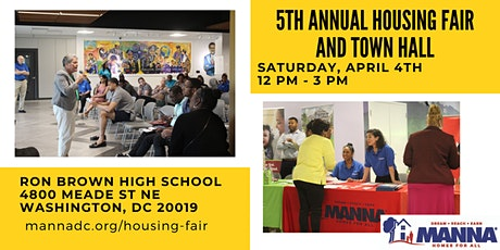 2020 Housing Fair and Town Hall billets