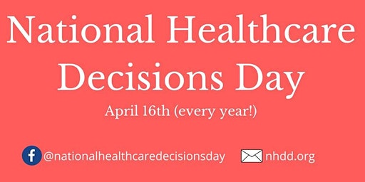National Health Care Decisions Day-Cold Spring, MN