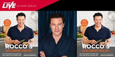 Meet chef Rocco DiSpirito, presented by Newsday Live & Long Island Litfest