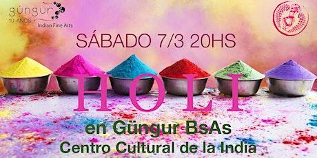 HOLI - El Festival del Color en la India - entradas