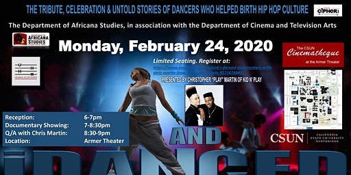 And I Danced Documentary with Chris Martin from Kid N Play