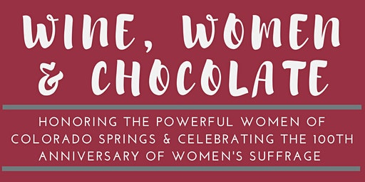 Wine, Women, and Chocolate
