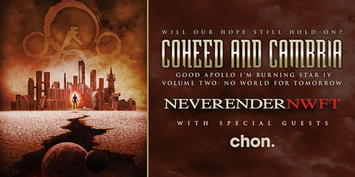 """Coheed and Cambria """"NEVERENDER: NWFT"""""""