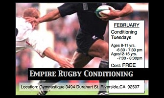 Empire Rugby Fitness Class